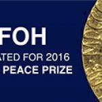 DAFOH Receives Nomination for 2016 Nobel Peace Prize